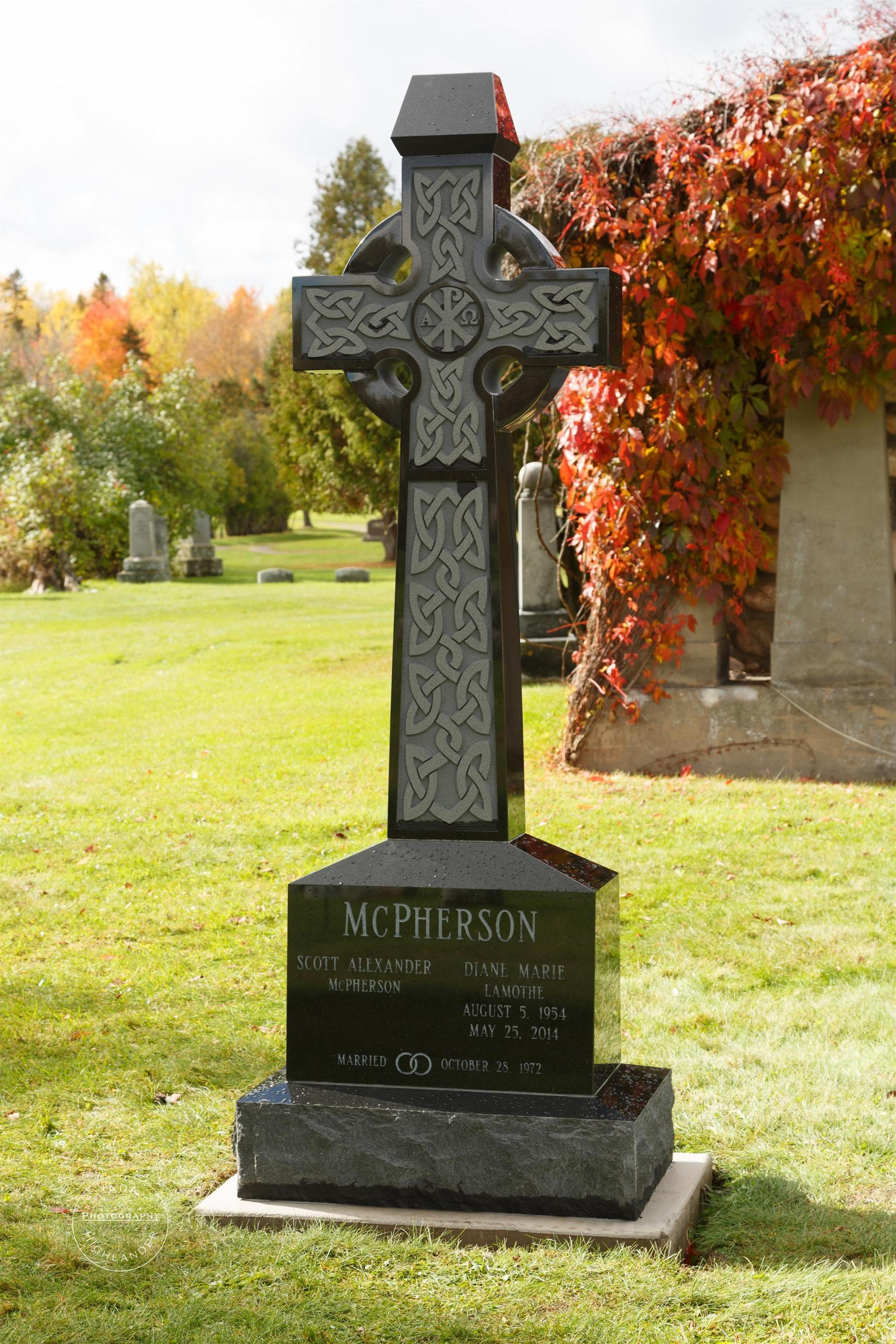 McPherson Celtic Cross Tablet