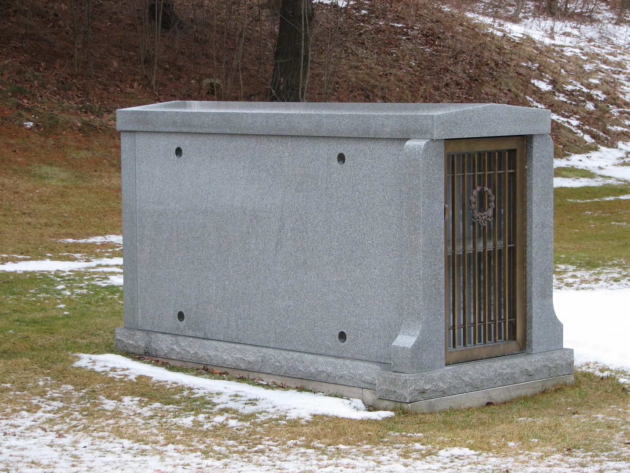 Blank Mausoleum