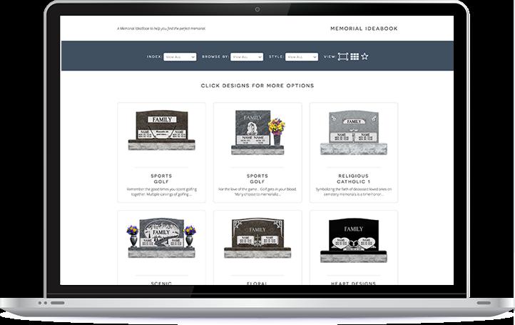 Interactive Designer - Design your own monument